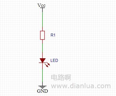 实战设定LED灯限流电阻的大小