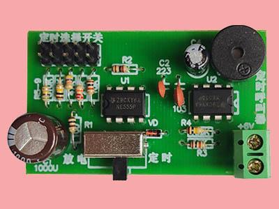 555定时呼叫器电路