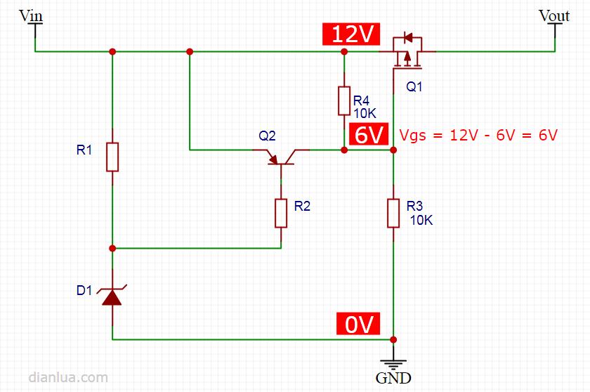5V过压保护电路