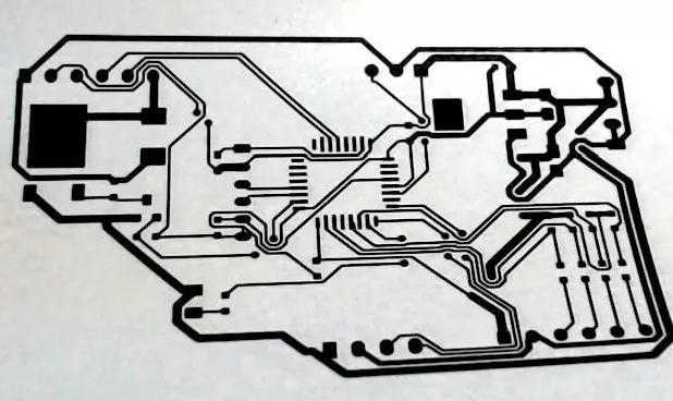 用热转印法制作PCB电路板